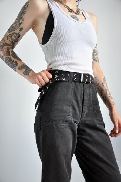 Y2K CANVAS BELT - NOCTEX - BUY NOW PAY LATER