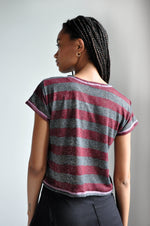 FLATLOCK TEE - RED - NOCTEX - BUY NOW PAY LATER