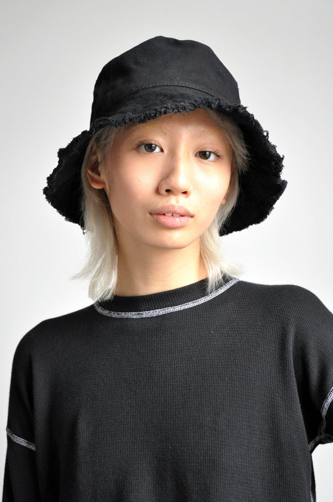 DISTRESSED BUCKET HAT - NOCTEX - BUY NOW PAY LATER