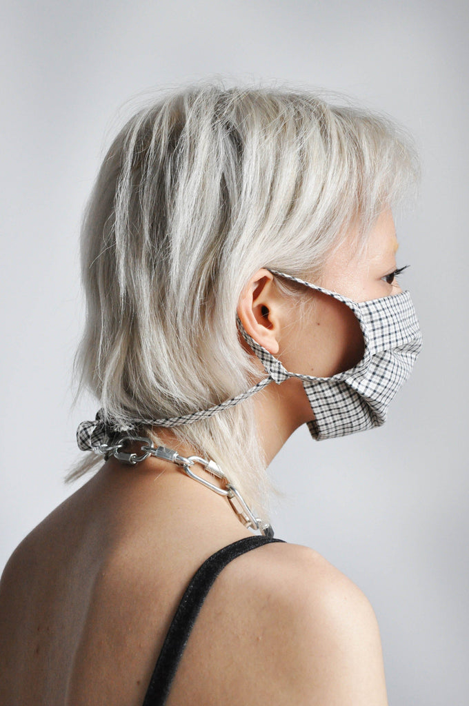 EASY ADJUST MASK-PLAID - NOCTEX - BUY NOW PAY LATER (5364681343132)
