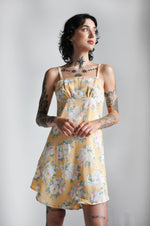 CELINE DRESS - FLORAL YELLOW - NOCTEX - BUY NOW PAY LATER