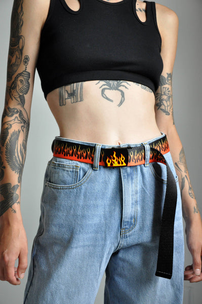 FLAMETHROWER TWILL BELT - NOCTEX - BUY NOW PAY LATER (5243638939804)