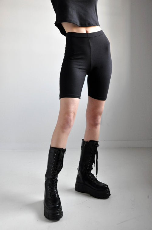 HIGH WAIST BIKE SHORTS - NOCTEX - BUY NOW PAY LATER (3528572174408)