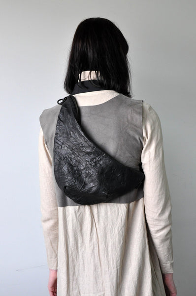 KIDNEY Bag - Crinkle Leather