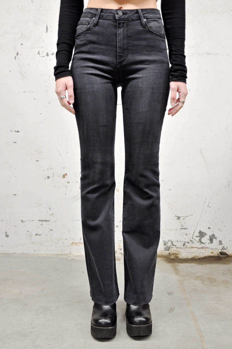 High Rise Fall Flare Jeans (6031273099459)