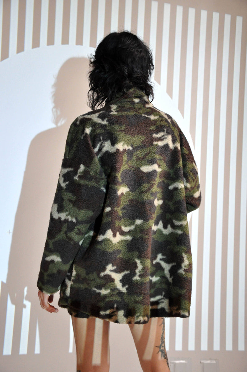 CAMO FLEECE SET - DARK GREEN - Shop Noctex