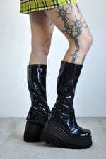 SHAKER PLATFORM BOOTS [NEW COLORS] - Shop Noctex