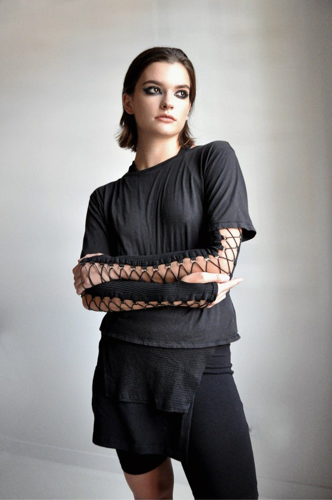 LACE UP ARMWARMERS (4041129099336)