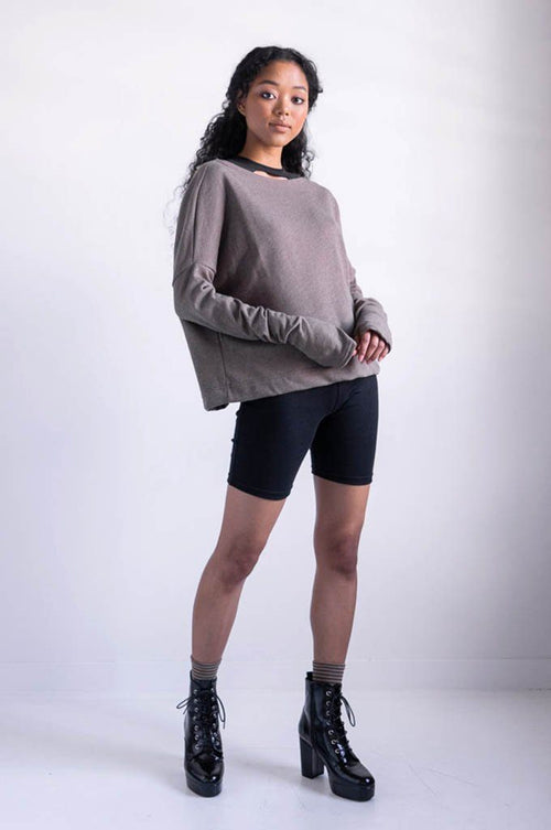 Crop Sweater - Shop Noctex