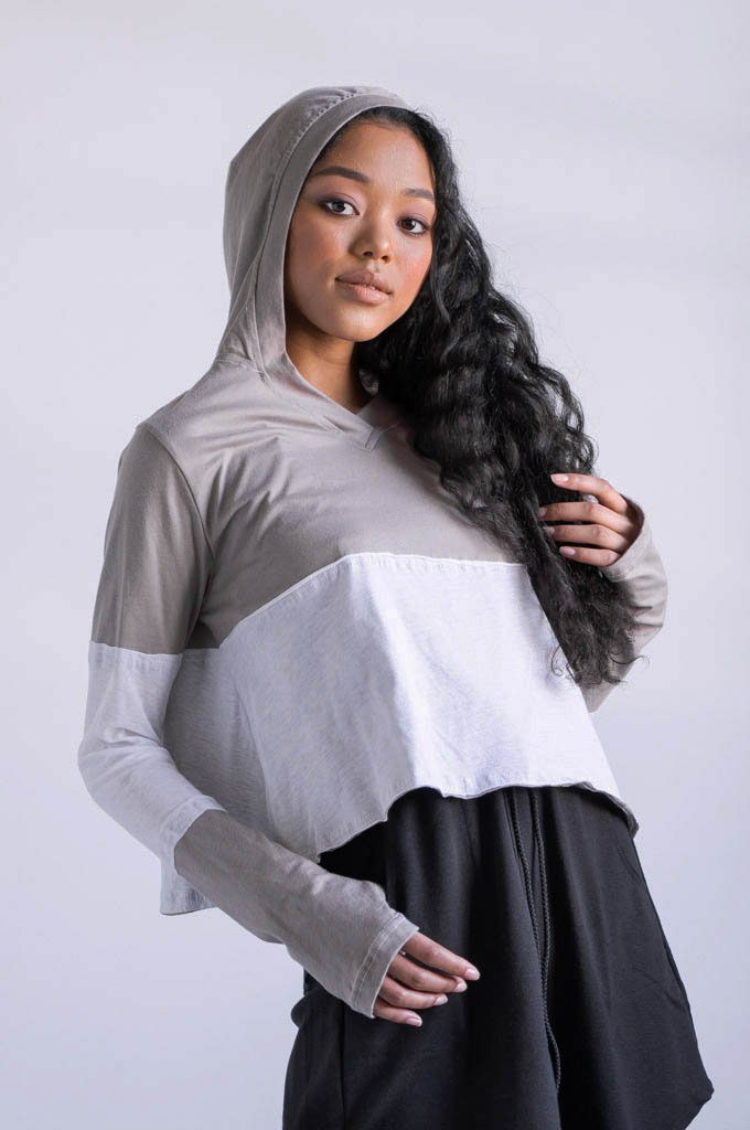 DAZED CROP LONGSLEEVE - NOCTEX - BUY NOW PAY LATER