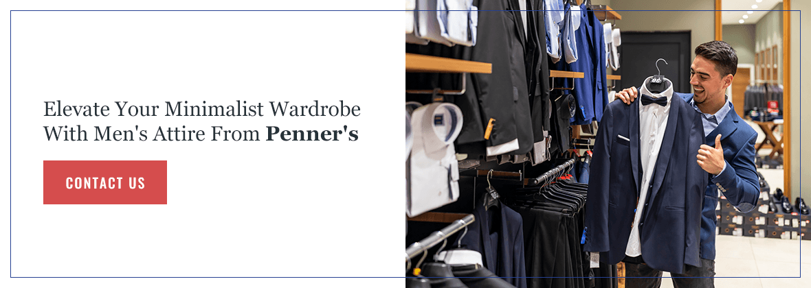 Upgrade Your Minimalist Wardrobe at Penner's