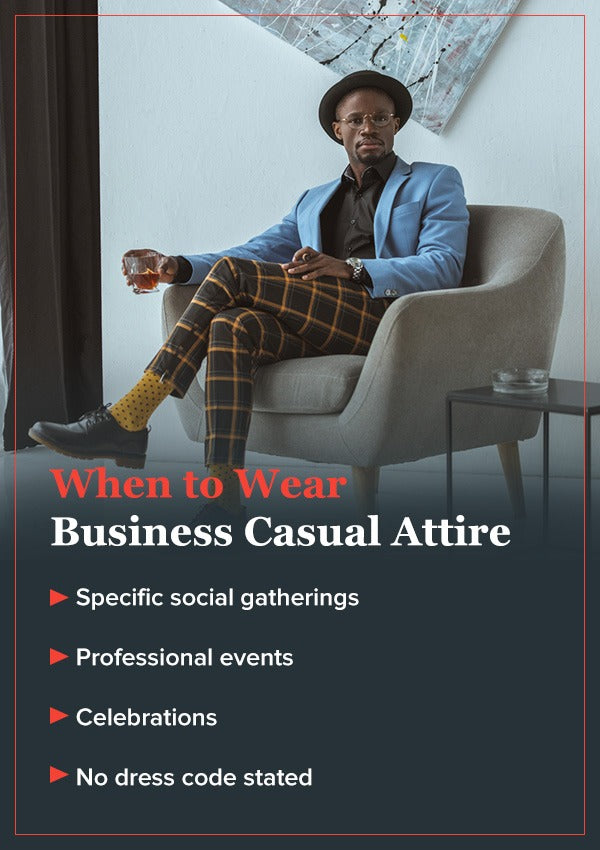 When to Wear Business Casual Attire