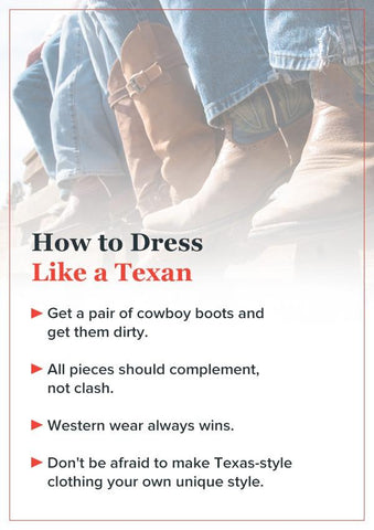 How to dress like a texan
