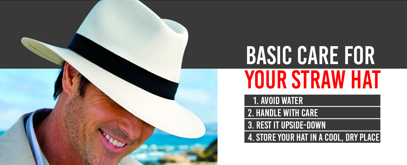 Basic Care For Your Straw Hat
