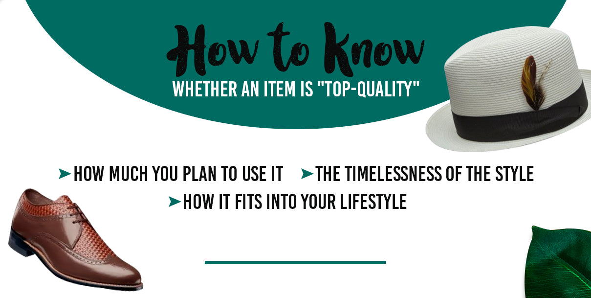 "How to Know Whether an Item is ""Top-Quality"""
