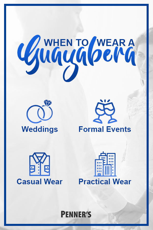 When to Wear a Guayabera