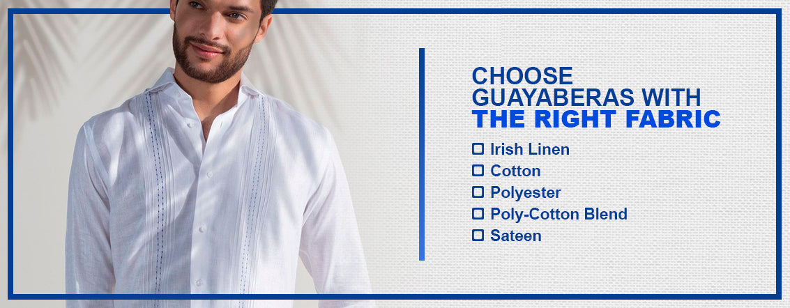 Choose Guayaberas with the Right Fabric