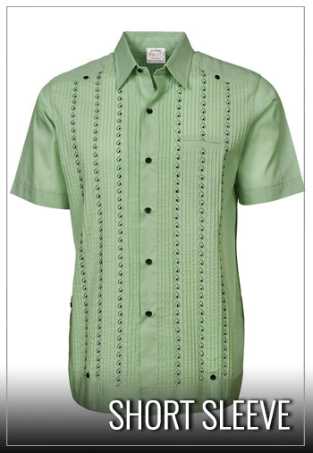 c330a9935f7be Buy Guayaberas | Authentic Mexican & Cuban Guayabera Shirts - Penners