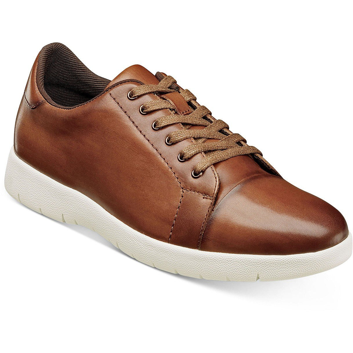 STACY ADAMS - (A3264) Hawkins Cap Toe (Cognac)