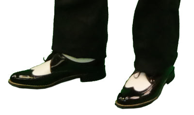 Black and White Stacy Adams Shoes | Men