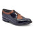 STACY PENNER - Black/Cognac Wing Tip (C1606) NEW STYLE