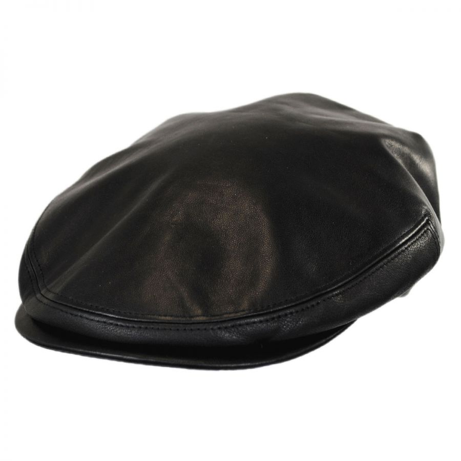 Capas Lambskin Leather Cap