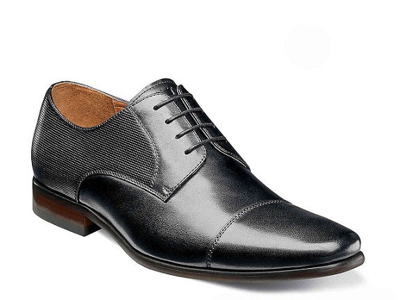 Florsheim - (C2514) Postino Cap Toe Oxford (Black)