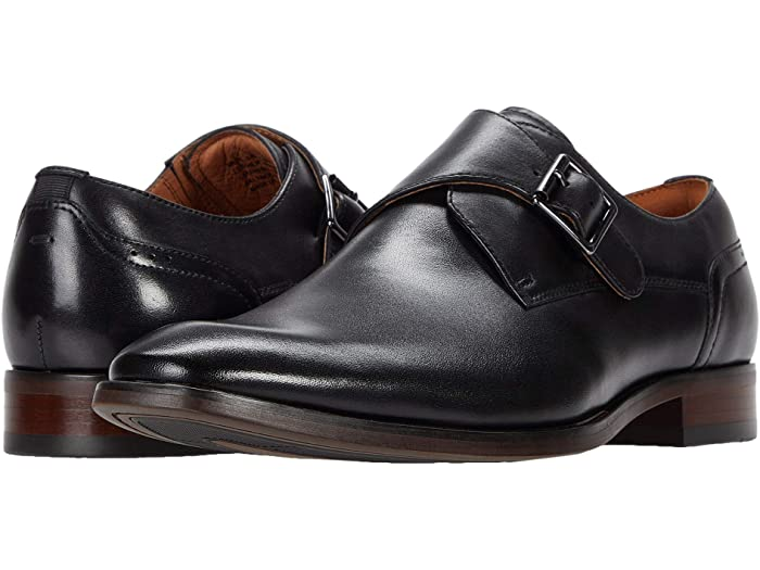FLORSHEIM - (C2500) Sorrento Single-Monk Strap (Black)