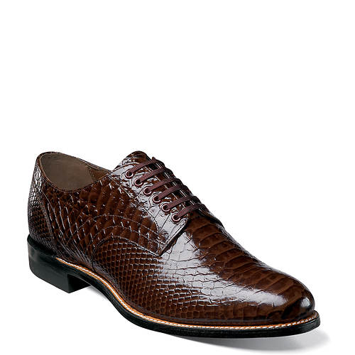 STACY ADAMS - (A2929) Madison Anaconda Plain Toe (Brown)