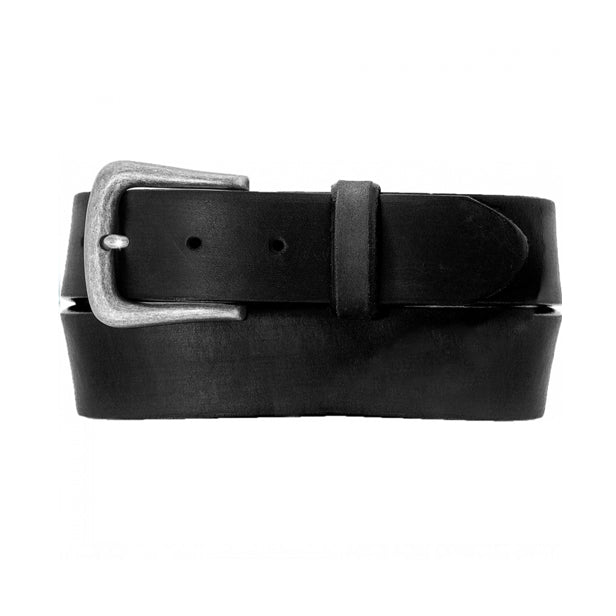 BRIGHTON - (64603/09) Beck Leather Work Belt (Black) (Brown)