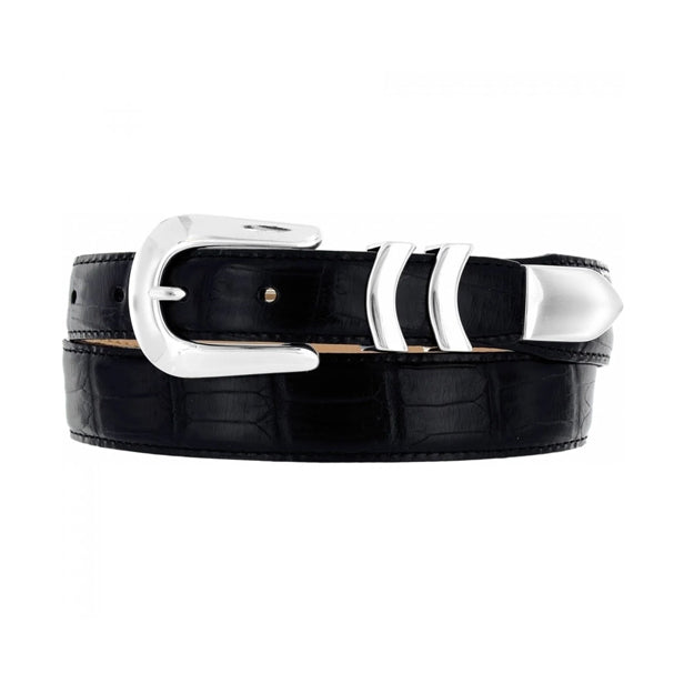 BRIGHTON - (19403/07 Catera Croco Belt (Black) (Brown)