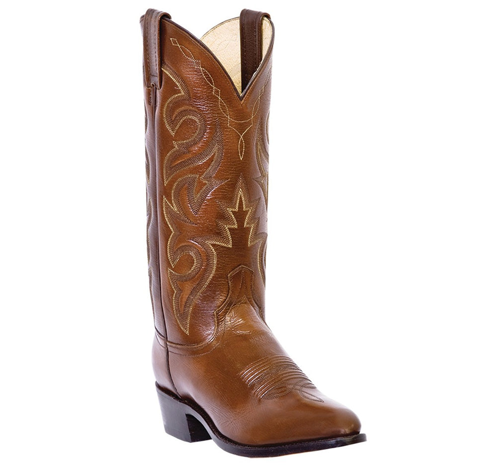 DAN POST - (A501) Milwaukee Leather Western Boots (Brown)