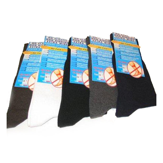 EuroChoice Comfort Socks - Regular - $10.75 each pair