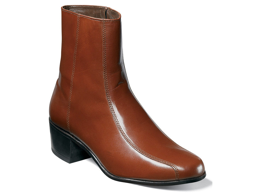 FLORSHEIM - (A3501) Duke Zipper Boot (Cognac)