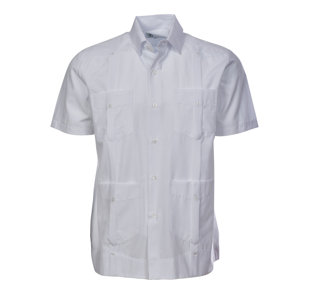 HACIENDA Guayabera - (4427SS) - 100% Cotton Short Sleeve
