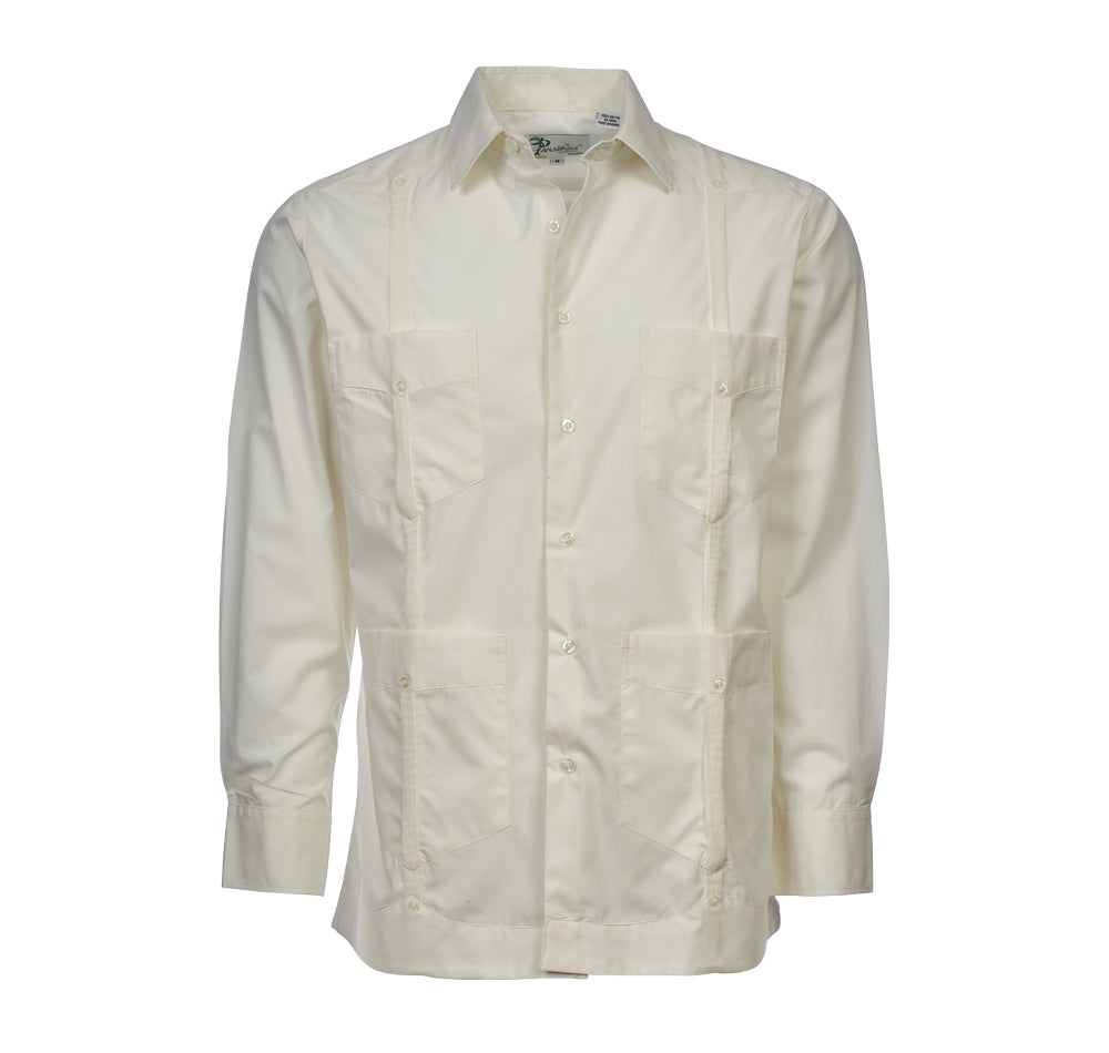 HACIENDA Guayabera - (4427LS) - 100% Cotton Long Sleeve