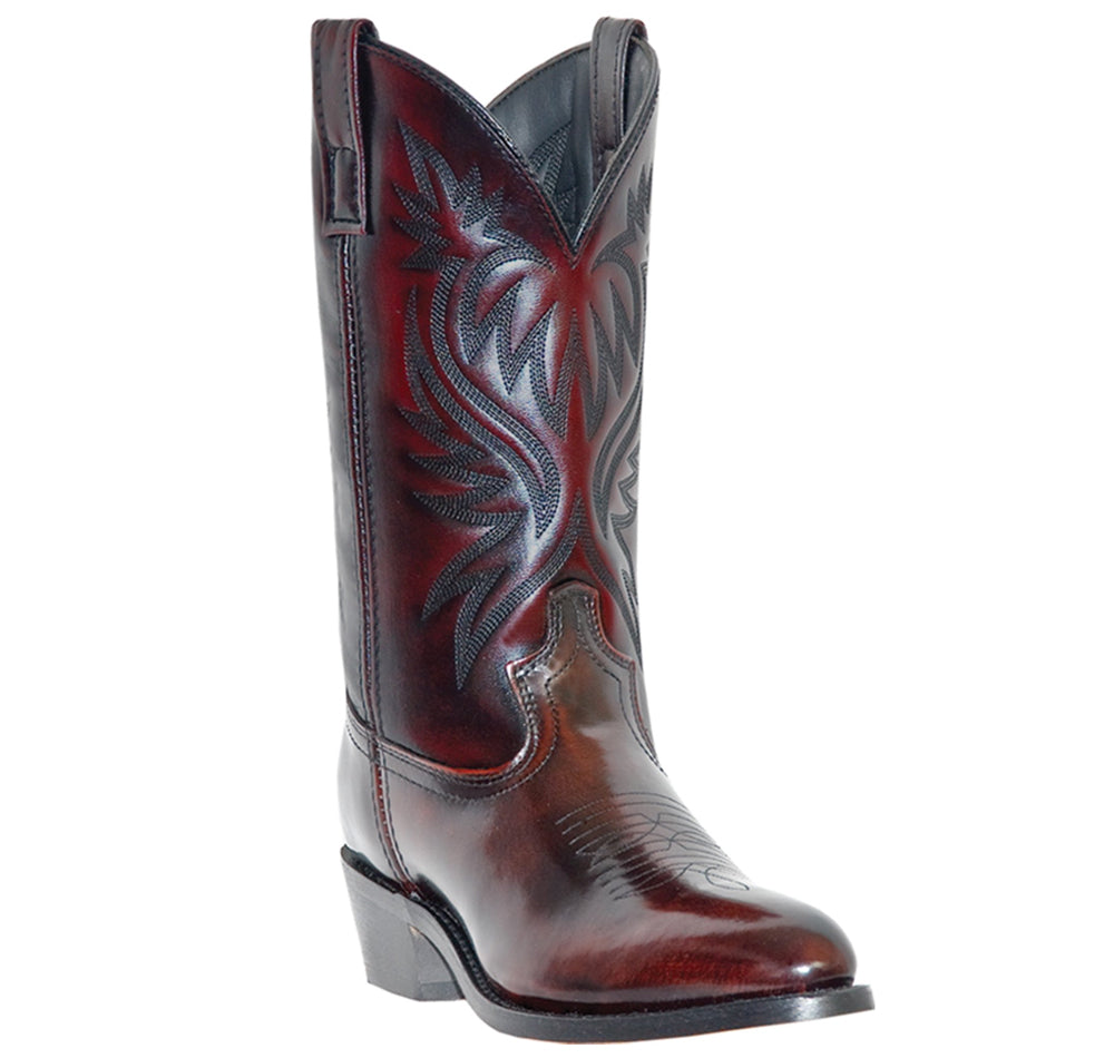 LAREDO - (A518) Western Boot (Black Cherry)