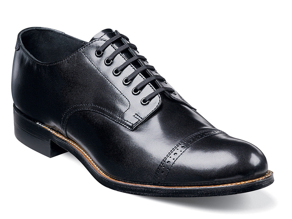 STACY ADAMS - (C2937) Madison Plain Toe (Black)