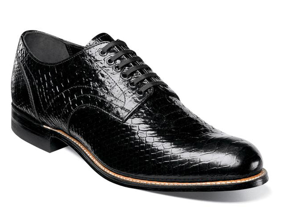 STACY ADAMS - (C2930) Madison Plain Toe (Black)
