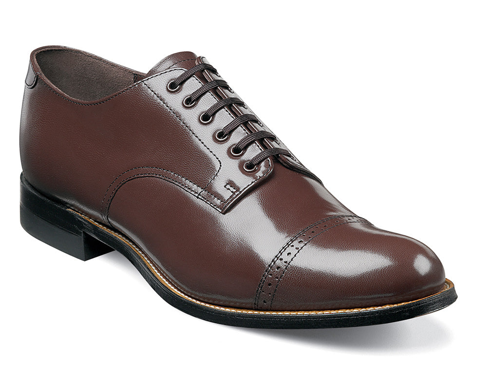STACY ADAMS - (A2937) Madison Plain Toe (Brown)