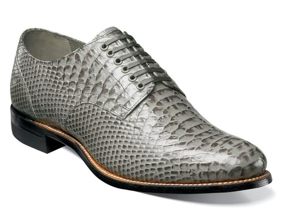 STACY ADAMS - (C2932) Madison Plain Toe (Grey)