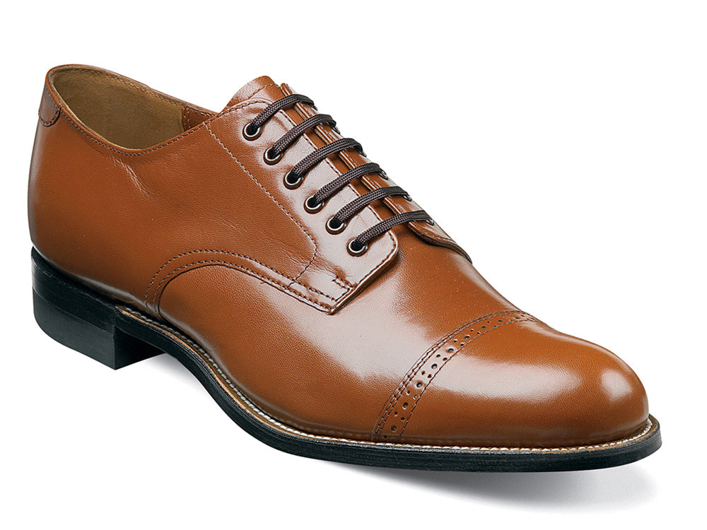 STACY ADAMS - (A2930) Madison Plain Toe (Oak)