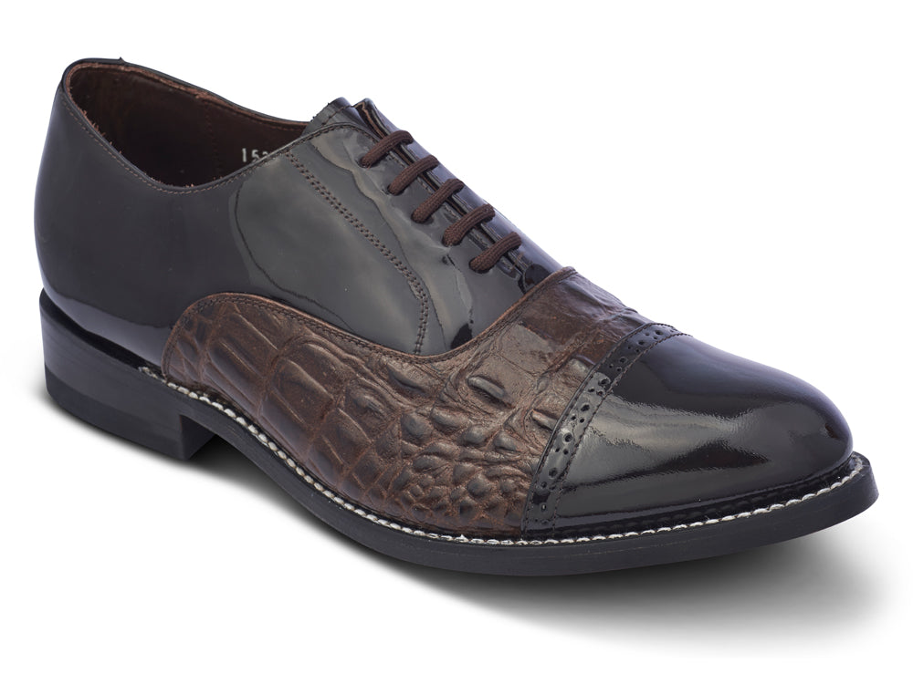STACY PENNER - Brown Cap Toe (A1233)