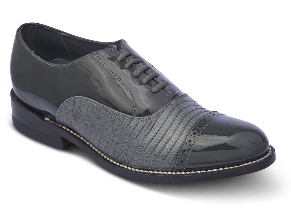 STACY PENNER - Grey Cap Toe (C1602)