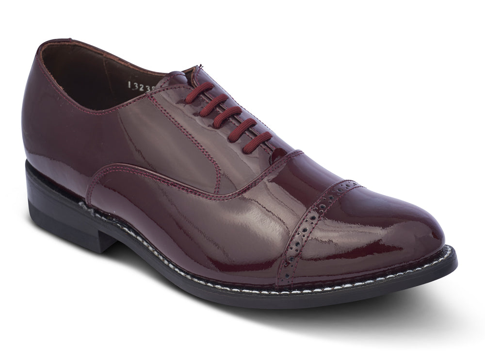 STACY PENNER - Burgundy Cap Toe (A1634)