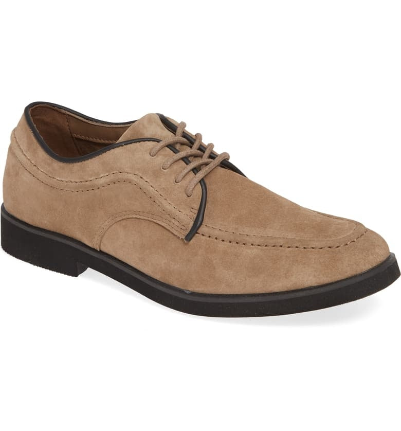 HUSH PUPPIES - (A931) Bracco Mt Oxford (Taupe)