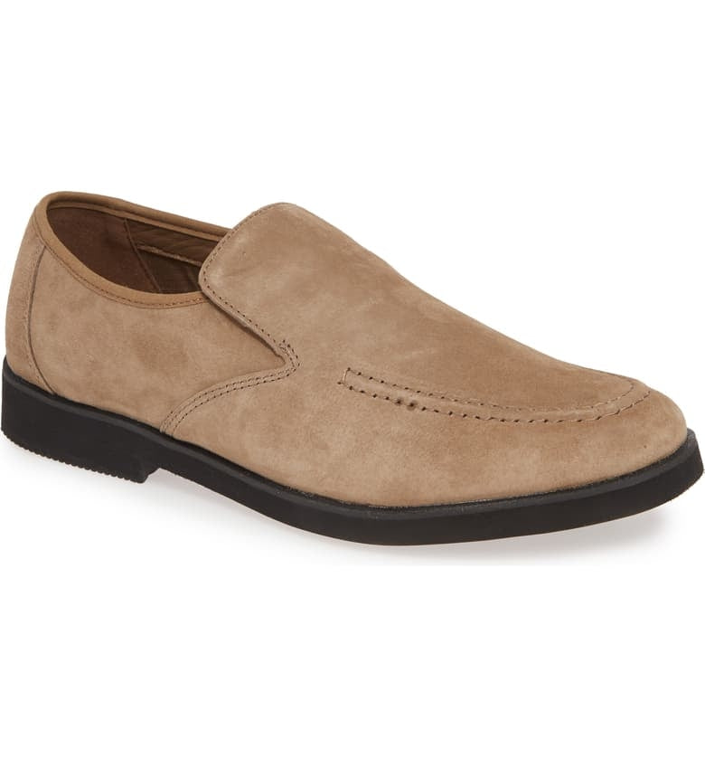 HUSH PUPPIES - (A932) Bracco Mt Slipon (Taupe)
