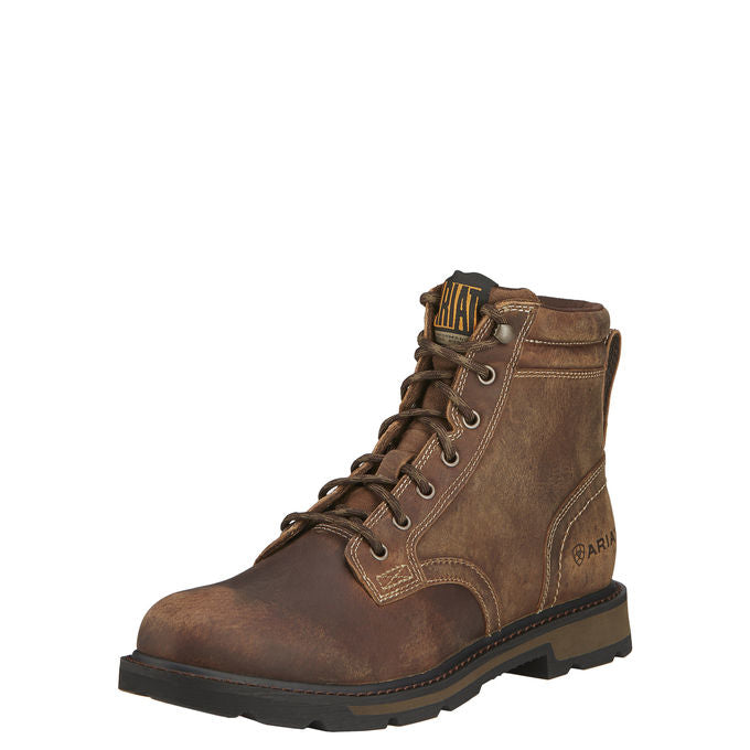 Ariat - (A1800) Groundbreaker Work Boot (Brown)
