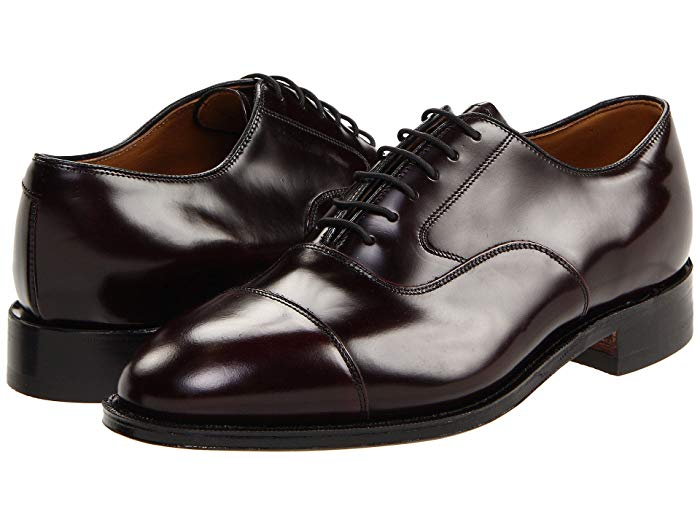 JOHNSTON & MURPHY - (A2800) Melton Cap Toe (Burgundy)