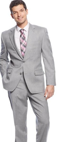 Maxman Prive Silver Sharkskin Suit